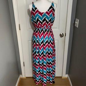 Colorful tank top dress